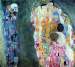 Gustave Klimt, Death and Life Fine Art Reproduction Oil Painting