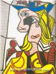 Roy Lichtenstein, Woman with Flowerd Hat Fine Art Reproduction Oil Painting