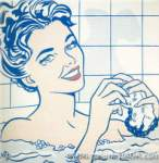 Roy Lichtenstein, Woman in a Bath Fine Art Reproduction Oil Painting