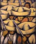Alfredo Ramos Martinez, Zapatistas Fine Art Reproduction Oil Painting