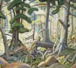 Arthur Lismer, Sunlight in a Wood Fine Art Reproduction Oil Painting