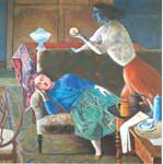 Balthasar Balthus, The Golden Fruit Fine Art Reproduction Oil Painting