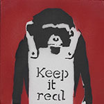 Banksy, Keep It Real Fine Art Reproduction Oil Painting