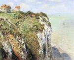 Claude Monet, Cliff at Dieppe Fine Art Reproduction Oil Painting
