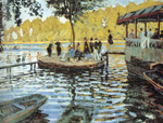 Claude Monet, La Grenouillere Fine Art Reproduction Oil Painting