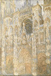 Claude Monet, The Cathedral in Rouen Fine Art Reproduction Oil Painting