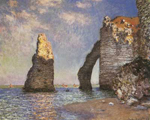 Claude Monet, The Needle, Etretat Fine Art Reproduction Oil Painting