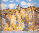 Claude Monet, The Varangeville Church Morning Effect Fine Art Reproduction Oil Painting