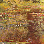 Claude Monet, Water Garden at Giverny Fine Art Reproduction Oil Painting