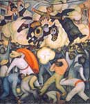 Diego Rivera, The Burning of the Judases Fine Art Reproduction Oil Painting