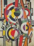 Fernand Leger, The Disks Fine Art Reproduction Oil Painting