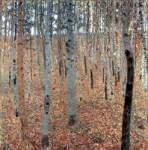 Gustave Klimt, Beech Forest I Fine Art Reproduction Oil Painting