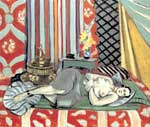 Henri Matisse, A Nude Lying on Her Back Fine Art Reproduction Oil Painting