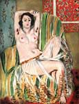 Henri Matisse, Moorish Woman with Upheld Arms Fine Art Reproduction Oil Painting