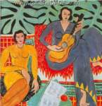 Henri Matisse, Music (2) Fine Art Reproduction Oil Painting