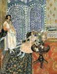Henri Matisse, The Moorish Floor Fine Art Reproduction Oil Painting