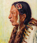 Henry Balink, Chief Fast Horse Fine Art Reproduction Oil Painting