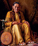 Henry Balink, Chief Whitesun Fine Art Reproduction Oil Painting
