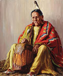 Henry Balink, Taos Elder Fine Art Reproduction Oil Painting