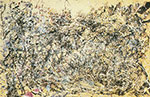 Jackson Pollock, Number 1A Fine Art Reproduction Oil Painting