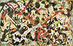 Jackson Pollock, Search Fine Art Reproduction Oil Painting