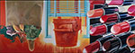 James Rosenquist, House of Fire Fine Art Reproduction Oil Painting