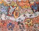 Jean Dubuffet, La Calipette Fine Art Reproduction Oil Painting