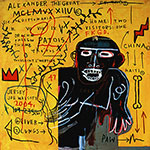Jean-Michel Basquiat, All Colored Cast (Part II) Fine Art Reproduction Oil Painting