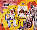 Jean-Michel Basquiat, Arroz con Pollo Fine Art Reproduction Oil Painting