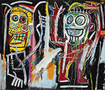 Jean-Michel Basquiat, Dustheads Fine Art Reproduction Oil Painting