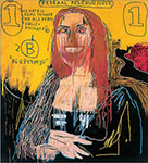 Jean-Michel Basquiat, Mona Lisa Fine Art Reproduction Oil Painting