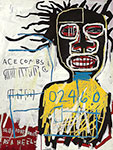 Jean-Michel Basquiat, Self Portrait as a Heel Fine Art Reproduction Oil Painting