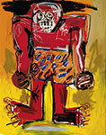 Jean-Michel Basquiat, Sugar Ray Robinson Fine Art Reproduction Oil Painting