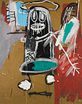 Jean-Michel Basquiat, Thirty Sixth Figure Fine Art Reproduction Oil Painting