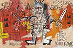Jean-Michel Basquiat, Untitled (Lead) Fine Art Reproduction Oil Painting