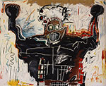 Jean-Michel Basquiat, Untitled (Boxer) Fine Art Reproduction Oil Painting