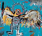 Jean-Michel Basquiat, Untitled (Fallen Angel) Fine Art Reproduction Oil Painting
