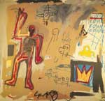 Jean-Michel Basquiat, Unititled (Red Man) Fine Art Reproduction Oil Painting