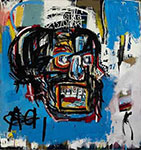 Jean-Michel Basquiat, Untitled (Skull) Fine Art Reproduction Oil Painting