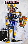 Jean-Michel Basquiat, Untitled (Stardust) Fine Art Reproduction Oil Painting