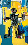 Jean-Michel Basquiat, Warrior Fine Art Reproduction Oil Painting