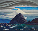 Lawren Harris, Morin Island, Eclipse Sound, North Baffin Island Fine Art Reproduction Oil Painting