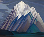 Lawren Harris, Mountain Forms Fine Art Reproduction Oil Painting