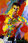 Leroy Neiman, Muhammad Ali Fine Art Reproduction Oil Painting