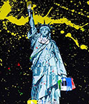 Mr Brainwash, Statue of Liberty Fine Art Reproduction Oil Painting