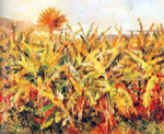 Pierre August Renoir, Banana Plantation Fine Art Reproduction Oil Painting
