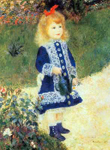 Pierre August Renoir, Little Girl with a Watering Can Fine Art Reproduction Oil Painting
