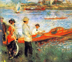 Pierre August Renoir, The Boating Party in Chatou Fine Art Reproduction Oil Painting