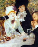 Pierre August Renoir, The End of the Luncheon Fine Art Reproduction Oil Painting