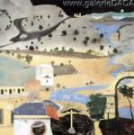R.B. Kitaj, Land of Lakes Fine Art Reproduction Oil Painting